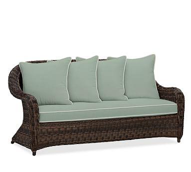 Torrey Roll Arm Sofa Cushion Slipcover Sunbrella