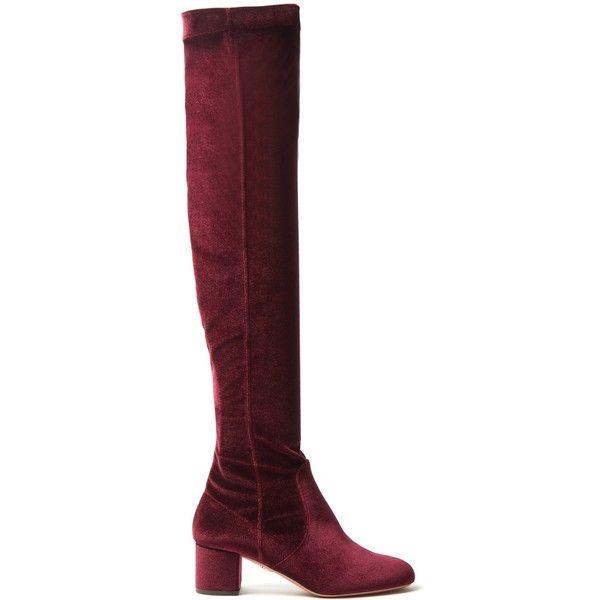 Aquazzura Essence Velvet Boots footlocker finishline online 5wRHr0spu