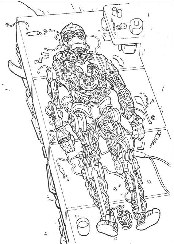 coloriage dessins dessins imprimer et la couleur en ligne star wars 76