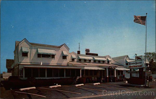 The Bonnie Doone Restaurant Provincetown Provincetown Massachusetts Provincetown Cape Cod