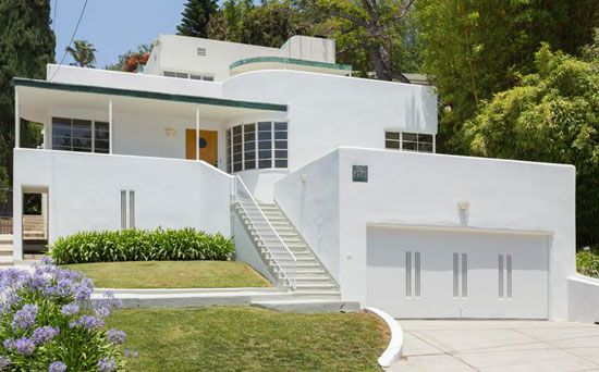 On the market 1930s milton j black designed streamline moderne property in los feliz california usa