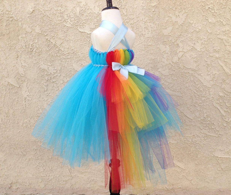 a61ac0cc3ece Rainbow Dash tutu dress My little pony tutu dress by SusanCreation ...