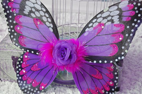 Monarch Butterfly Wings Photo Prop by PoshPixieTutu on Etsy, $19.99