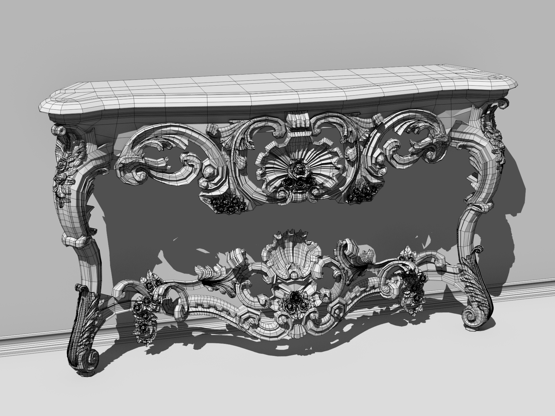 Blender Baroque (organic modeling and retopology ...