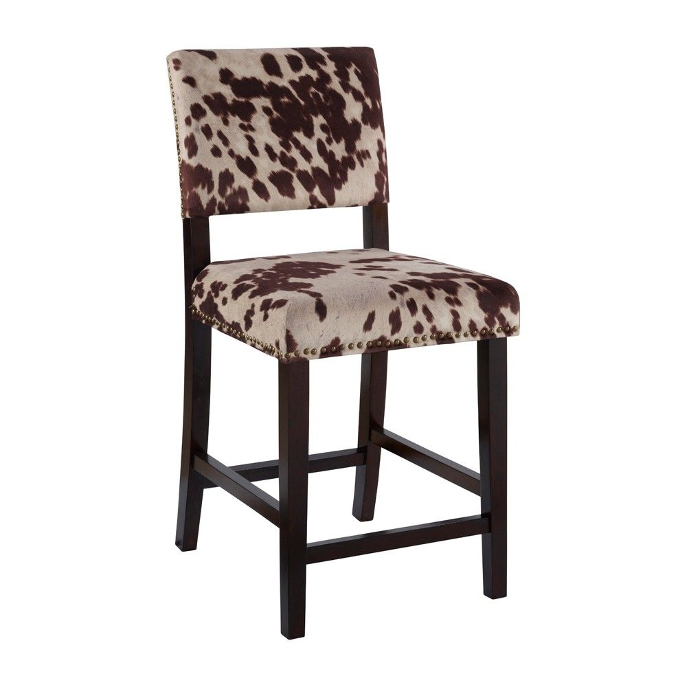 Phenomenal Linon Corey 24 Counter Stool Cow Print Products In 2019 Gmtry Best Dining Table And Chair Ideas Images Gmtryco