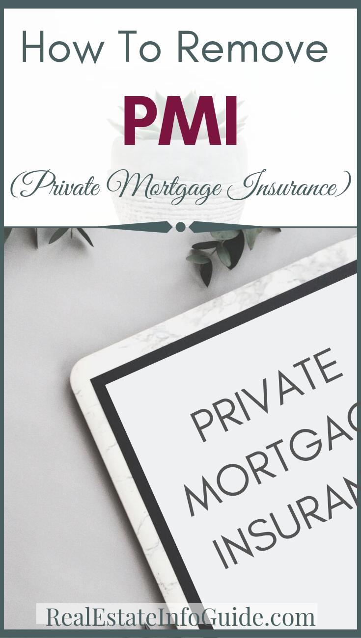 How To Remove Private Mortgage Insurance Private Mortgage