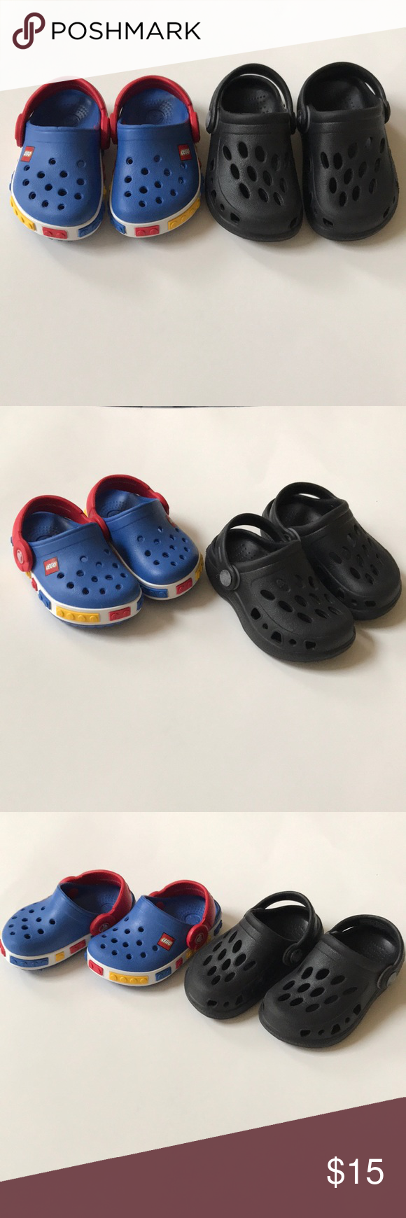2 Pairs of Baby Crocs | Toddler shoes