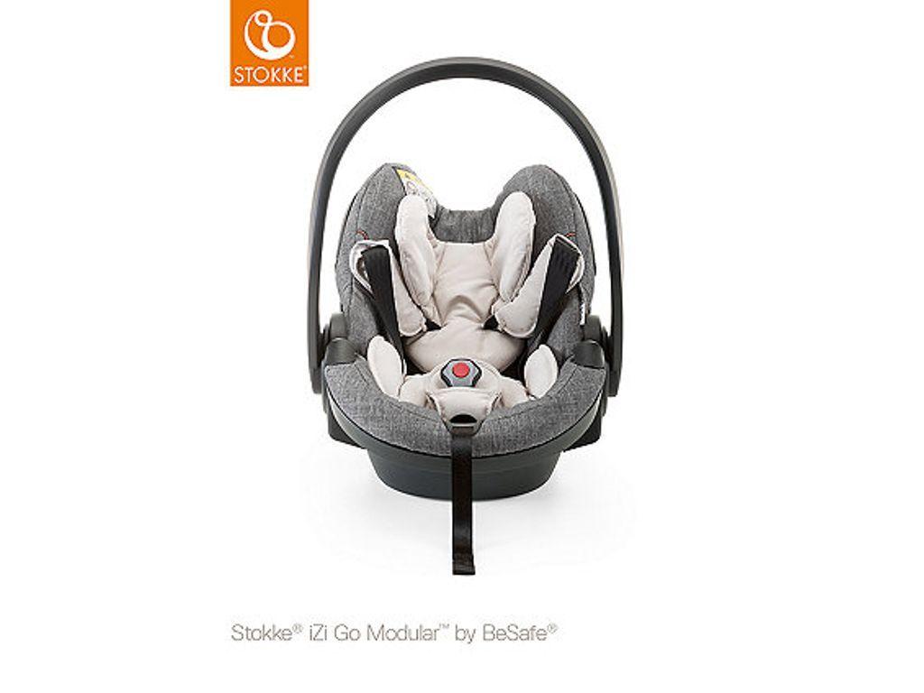 Stokke Izi Go Modular I Size By Besafe Baby Car Seat Black Melange Bebis