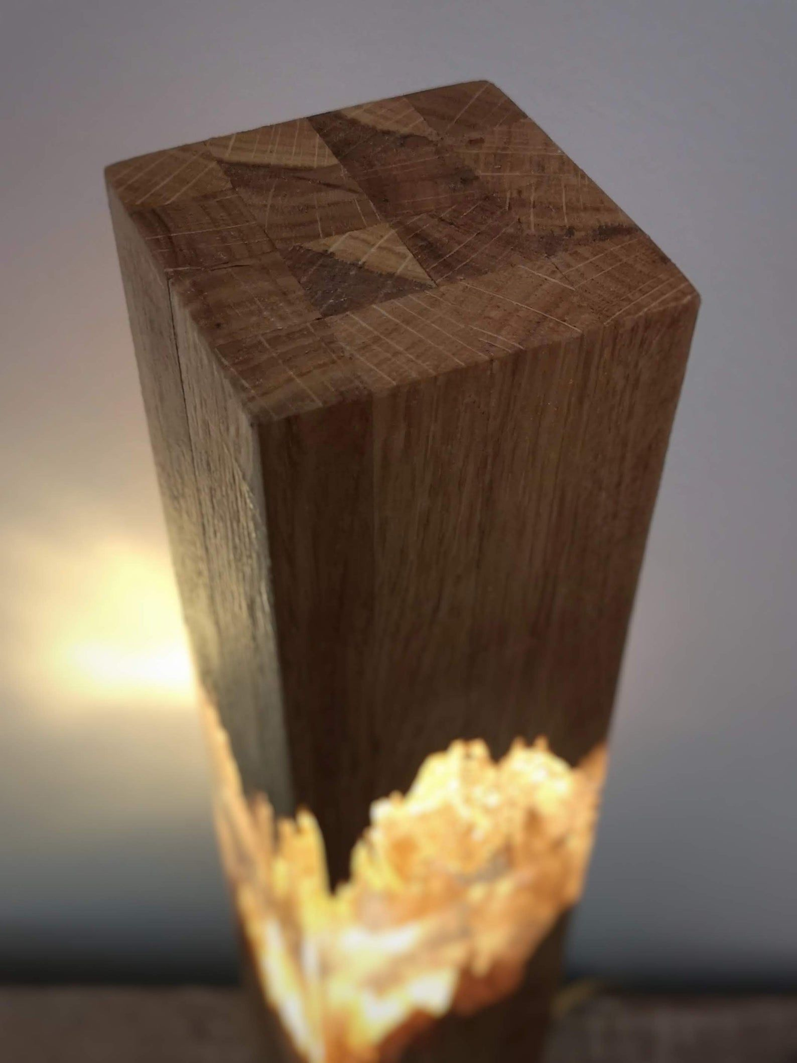 Epoxy Wood Lamp Lamp Night Lamp Resin Table Decor Decor Light In 2020 Resin Table Wood Lamps Wood Lamp Design