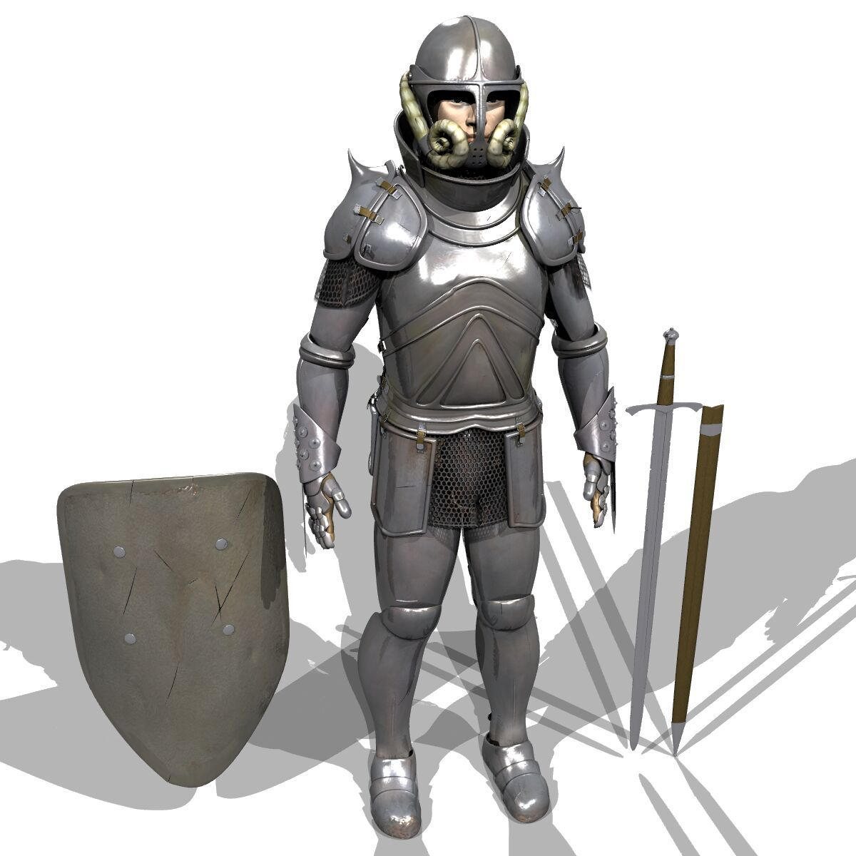 Medeavil Arbor: Medieval Style Armour From The Front. (DEAF, 2004) (With