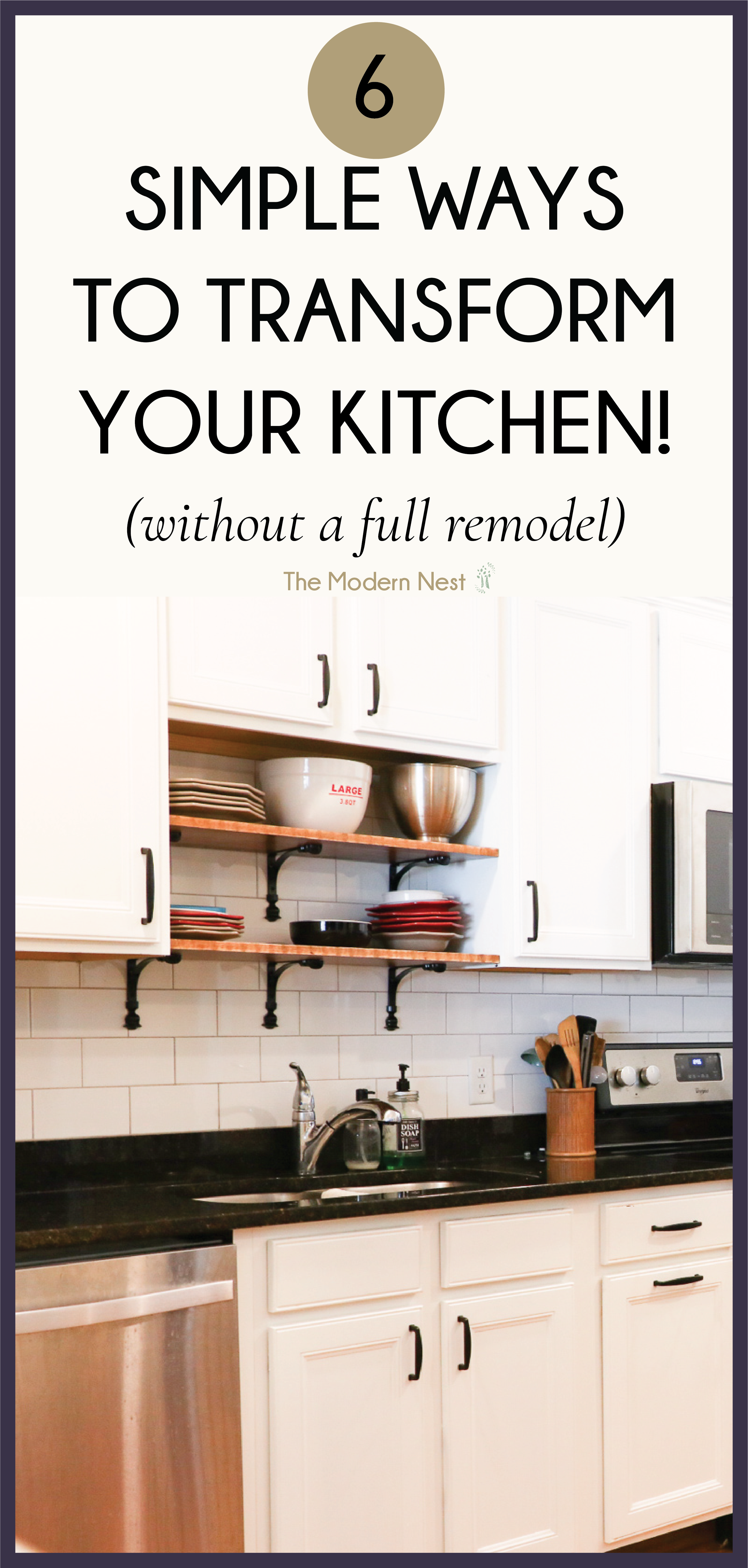 How To Transform Your Kitchen Without Doing A Full Renovation ...
