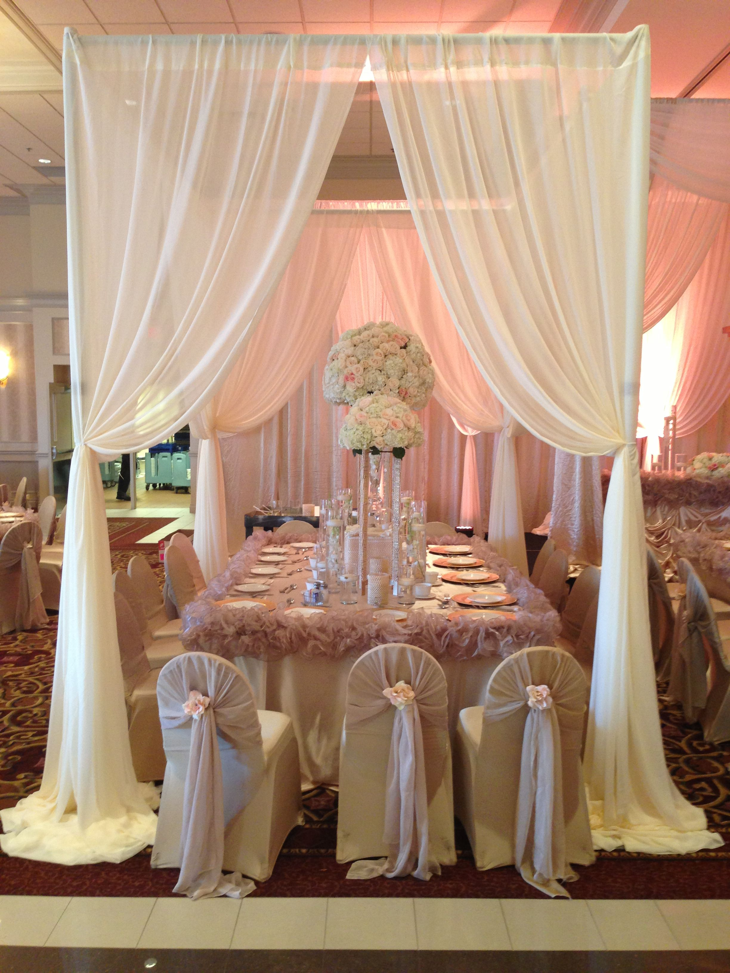 Bride And Groom S Family Tables Luxury Wedding Centerpieces