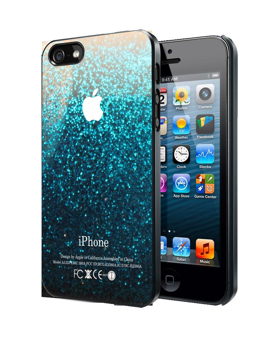 Blue Water Glitter Samsung Galaxy S3  S4 case ba5d831799e4