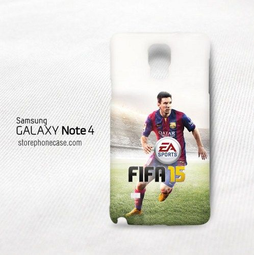 FIFA 2015 Lionel Messi Samsung Galaxy Note 4 Cover Case