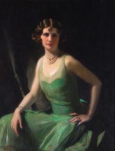 Portrait of Sylvia, daughter of the artist, Frank Salisbury, 1929