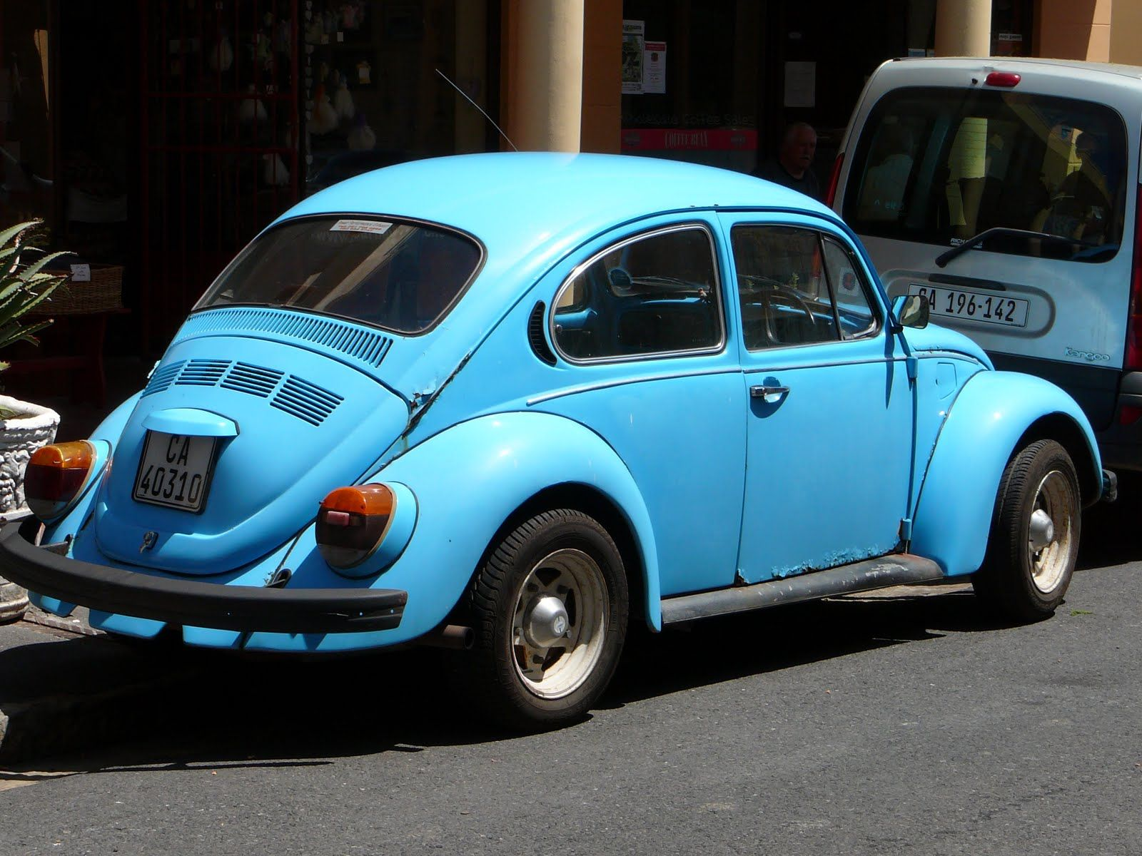 Blue old fashion punch buggy Products I Love Pinterest