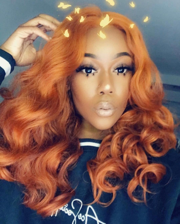 Versace Hottie Happy Easter Hair Barbs Ginger Hair