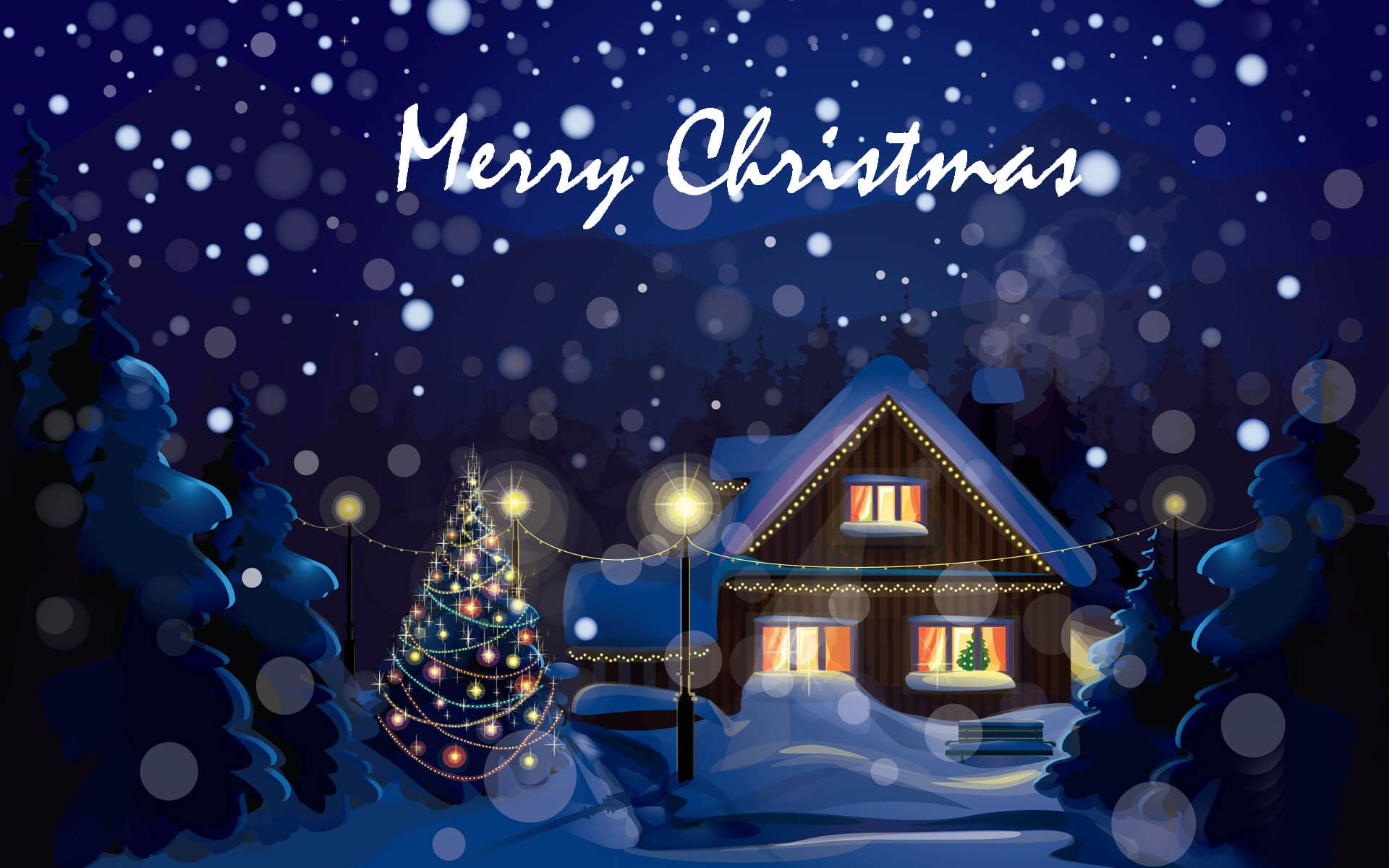 merry christmas live photo