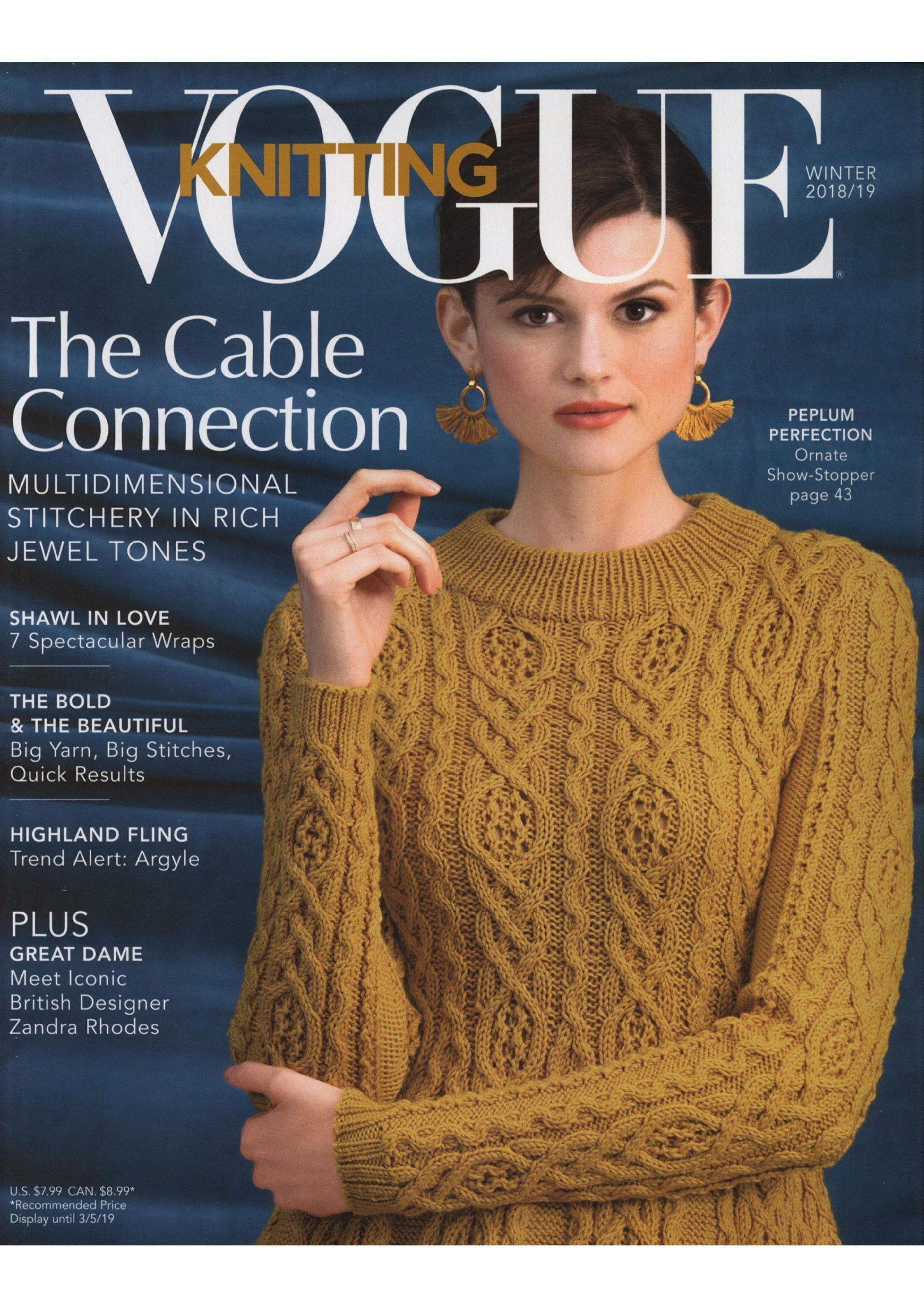 fe4f3b3500fa Excited to share the latest addition to my  etsy shop  Vogue Knitting  Magazine