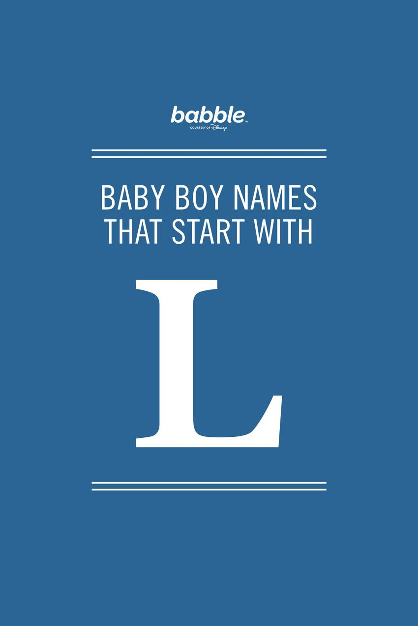 b50a932c560c Boy Names That Start With L