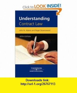 Understanding Contract Law (9781847031167) John Adams , ISBN-10