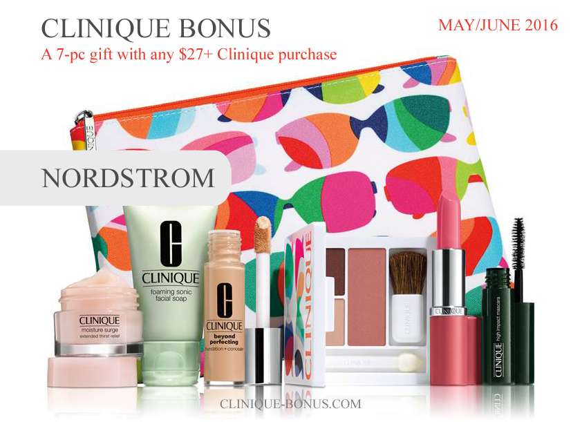 Clinique Gift With Purchase, Clinique Gift Set, Clinique Makeup, Nordstrom Gifts, Nordstrom