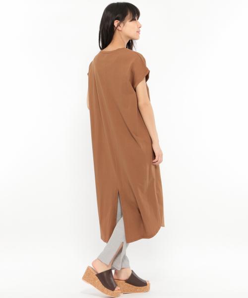 シルケットバックスリットワンピース 公式 ラコレ lakole 通販 ワンピース ファッションアイデア ワンピース シンプル