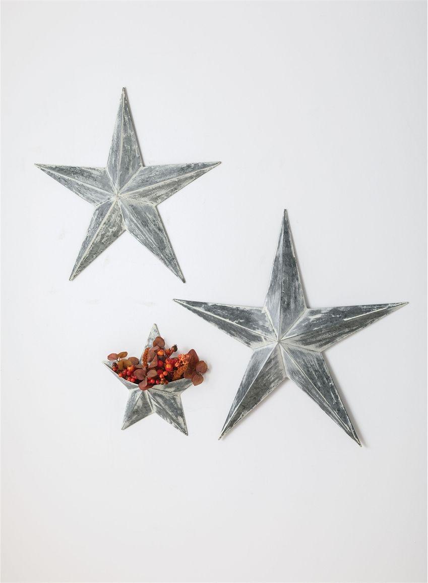 Wholesale Star Wall Decor Home Decor Silver Metal Sullivans Stars Wall Decor