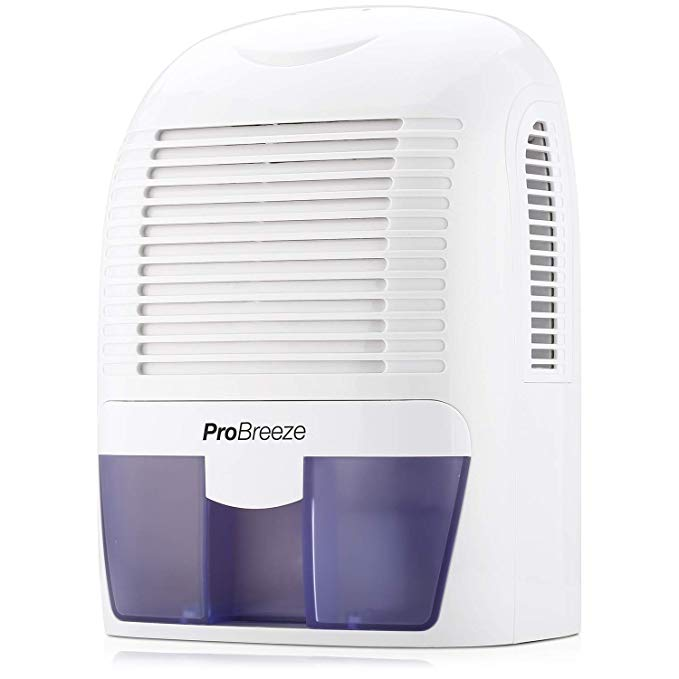 Amazon Com Pro Breeze Electric Mini Dehumidifier 2200 Cubic Feet 250 Sq Ft Compact And Portable For High Humid In 2020 Mini Dehumidifier Dehumidifiers Cubic Foot