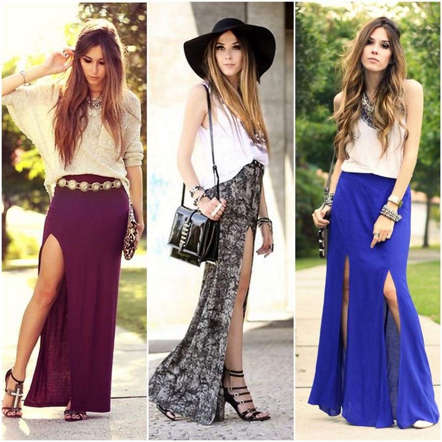 17 best images about Long skirt outfits on Pinterest | Green ...