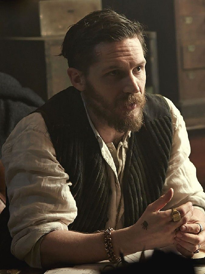 "Tom Hardy in ""Peaky Blinders"""
