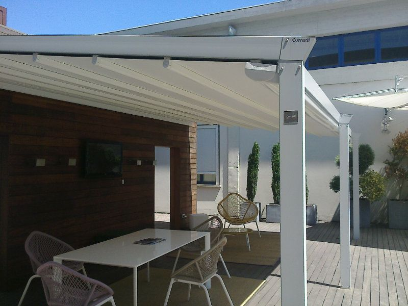 Corradi Retractable Roofs (With images) | Outdoor living ... on Bespoke Outdoor Living id=69431