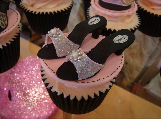 cake fun, celebration, cherry, cupcakes, cuteness, fun, glam, glitter, handbags, leopard print, muffins, naughty, novelty, pink, pretty, shoe cupcakes, sweet, treats, yummy