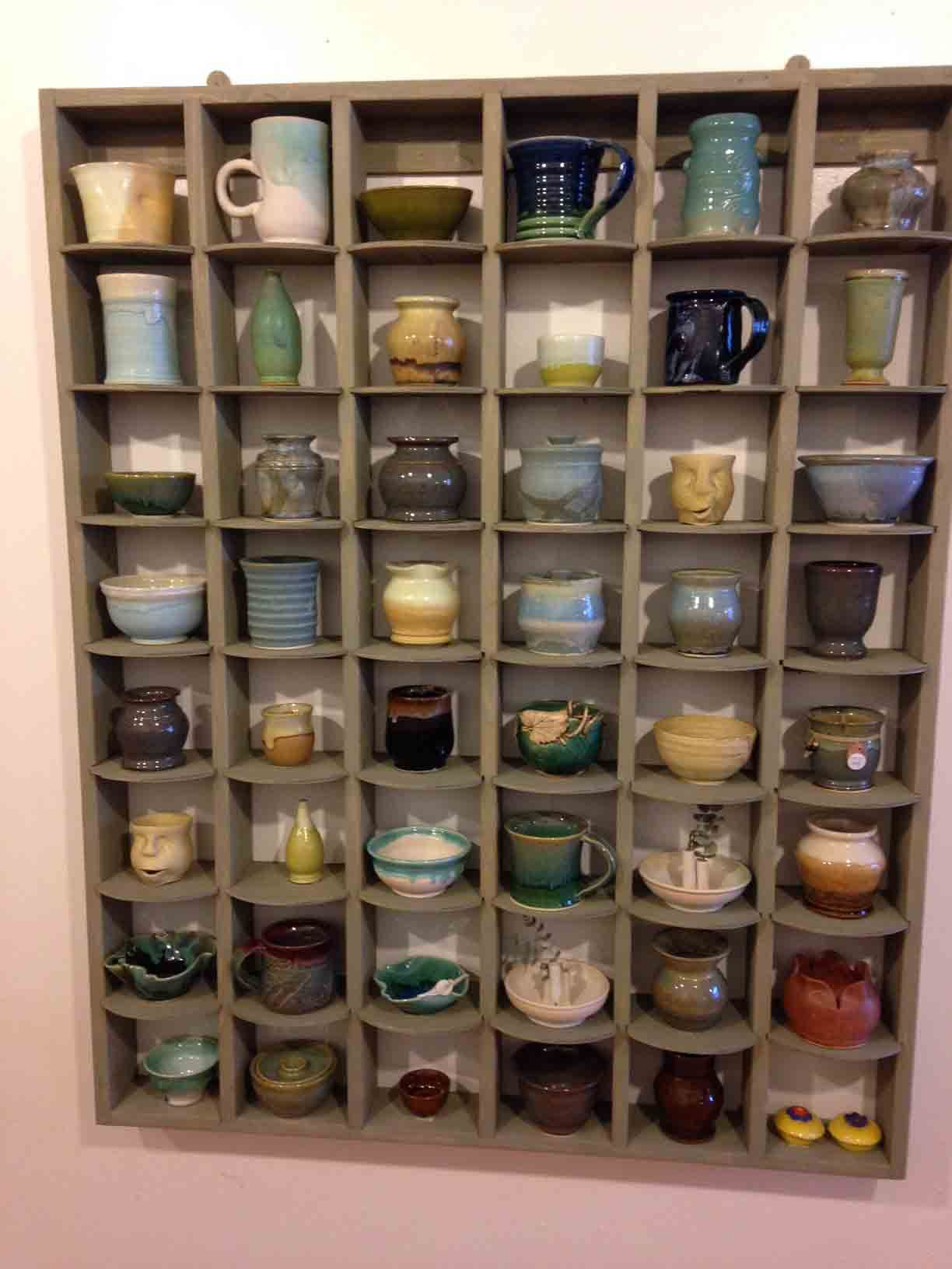 Mug Shelves With Images Storage