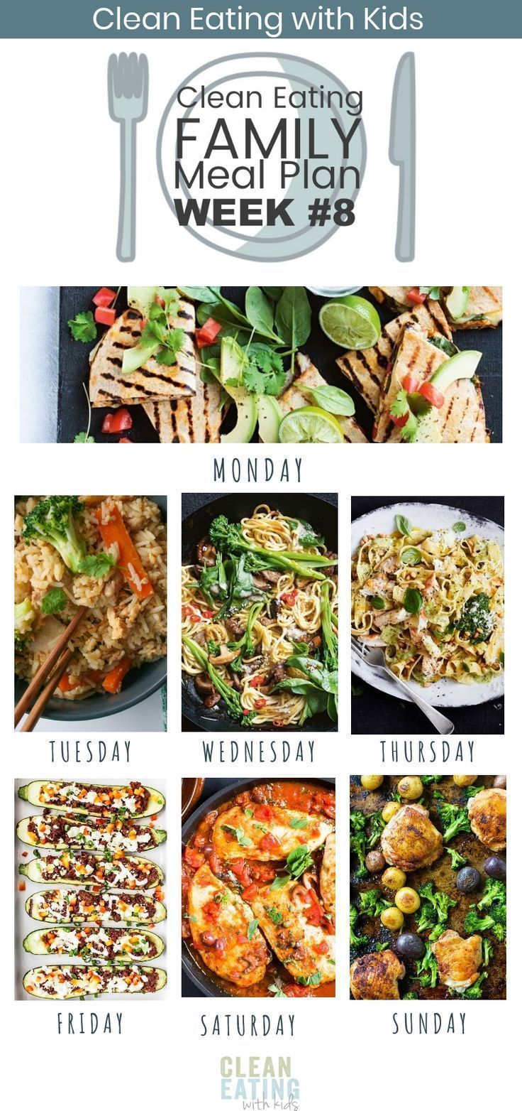 Clean Eating with Kids Meal Plan  Fast and Easy is the focus of this weeks family meal plan The Effective Pictures We Offer You About Clean Eating A quality picture can...