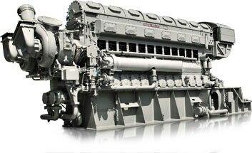 fairbanks morse 38nd 8 opposed piston 1600 h p diesel engine rh pinterest com Daihatsu Diesel Engine Truck Marine Diesel Daihatsu Engines