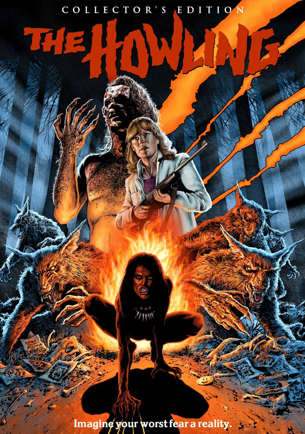 Howling Το Ουρλιαχτό (1981) The howling, Horror, Scary