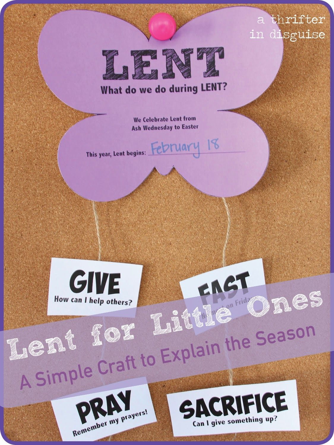 60 Outstanding Lenten Arts And Crafts Ideas