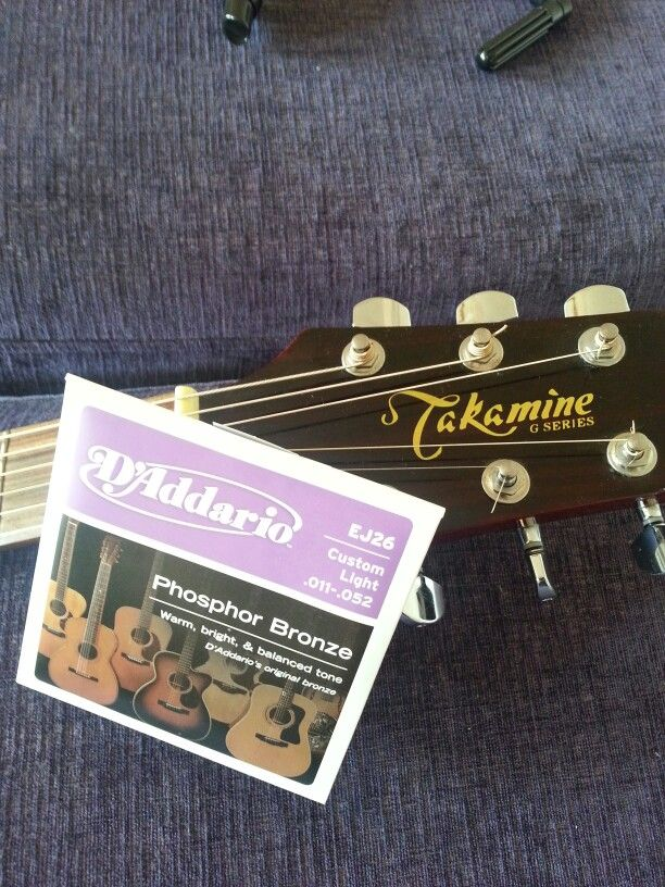 August 2013 Takamine Addario Ej26 Takamine Guitars D Addario Guitar Strings