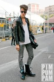 i love the rocker chic look too