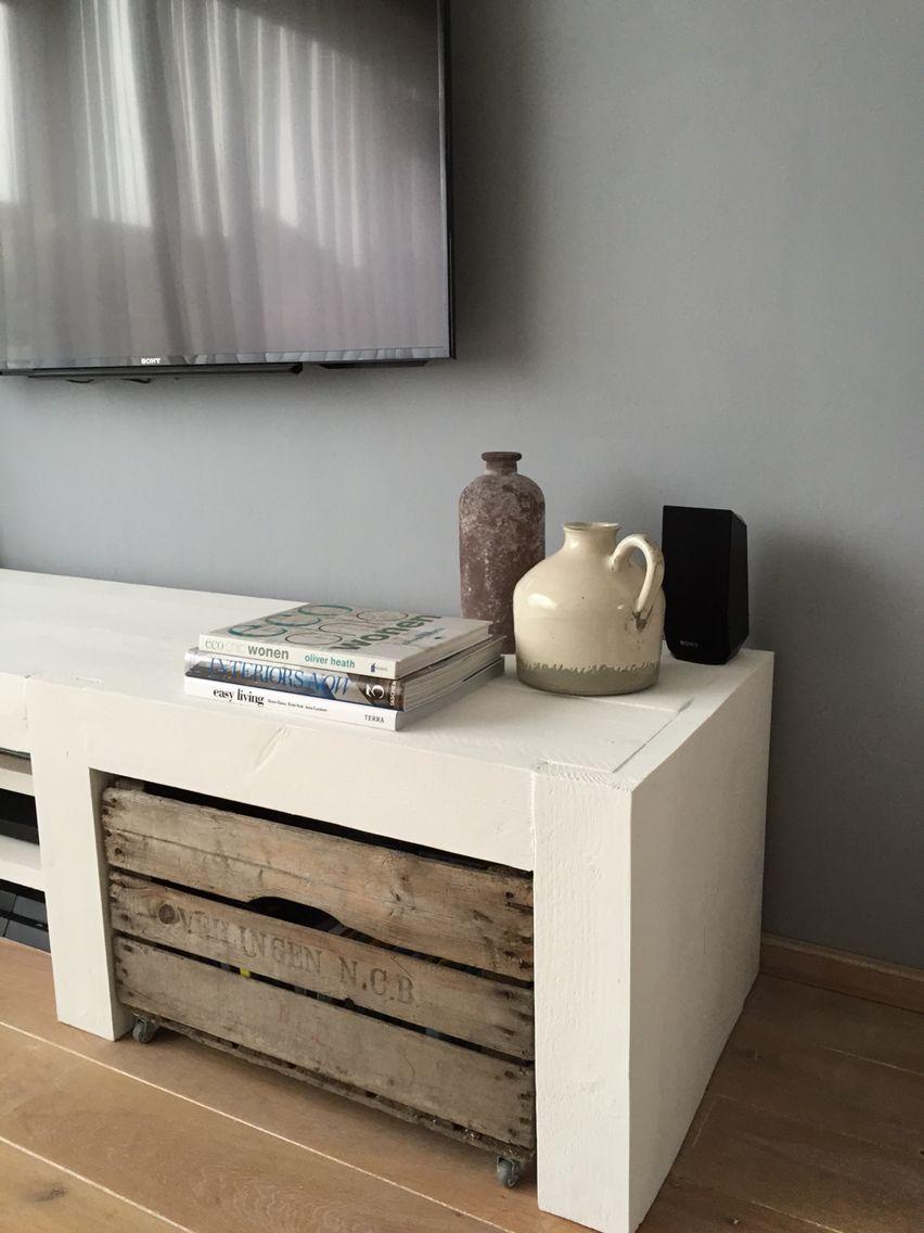 101 Woonideeen Tv Meubel.Steigerhout Tv Meubel Interieurbord Bastiaan Tv Meubels Huis