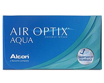 Air Optix Aqua Monatslinsen weich, 6 Stück / BC 8.6