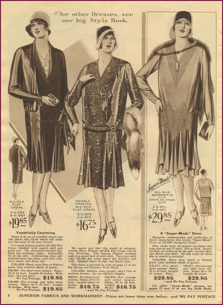 4614890dd440a 1929 Lane Bryant catalog /// NewVintageLady | the vintage dress ...