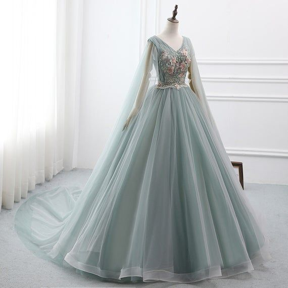 2019 Custom Prom Dress Ball Gown Long Quinceanera