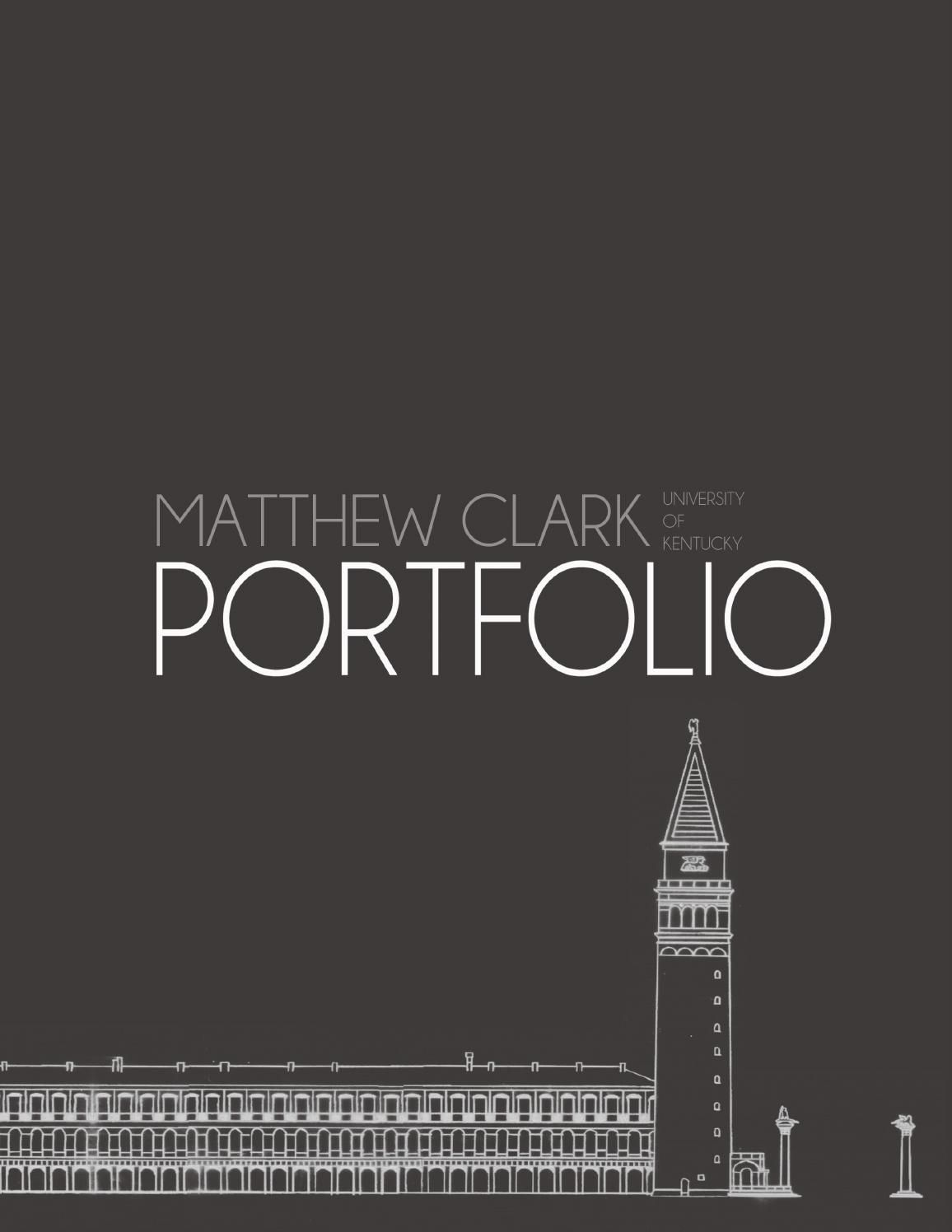 Matthew Clark Landscape Architecture Portfolio Pdf Layout Dissertation Example
