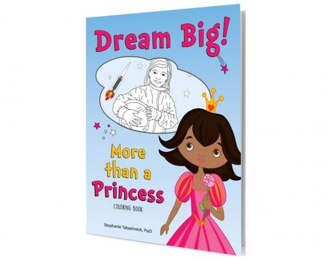 New Coloring Book Created To Inspire Girls Dream Big