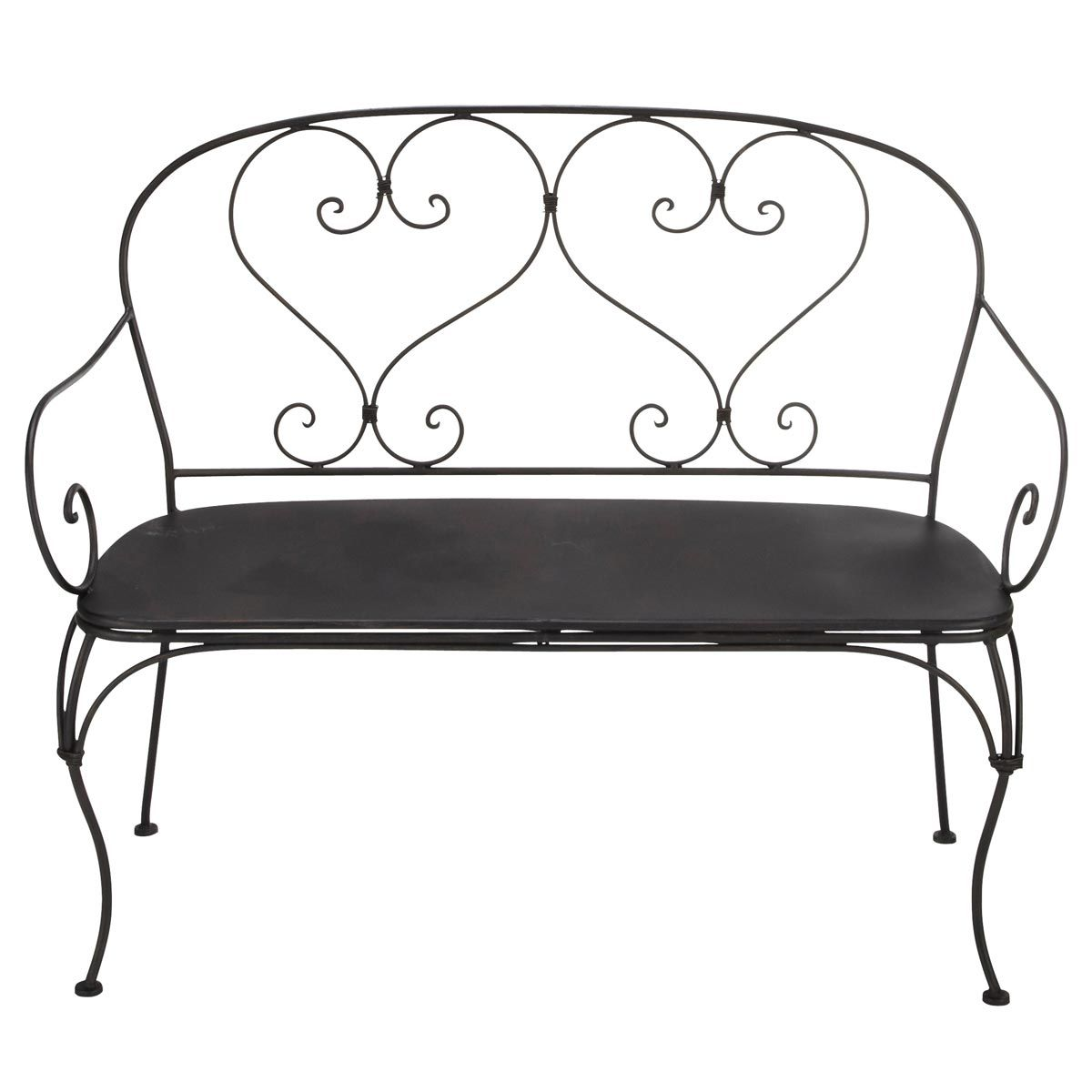 Mobilier de jardin | Home sweet home | Patio bench, Wrought iron ...