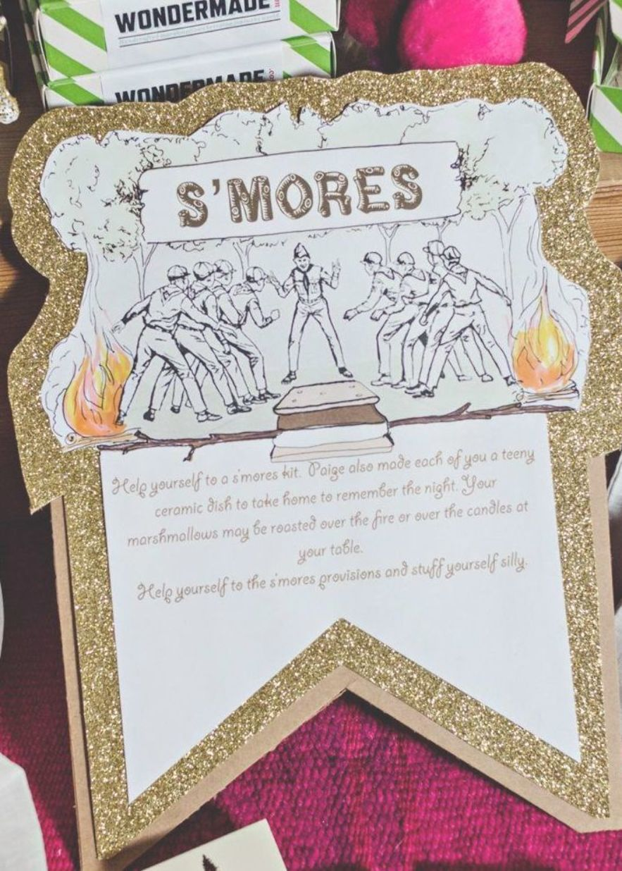 Looking For A Unique Wedding Theme How About A Summer Camp Themed