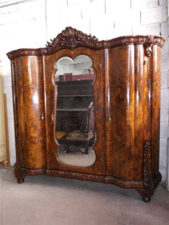 beautiful italian chippendale style bedroom set armoire 14it024a rh pinterest com