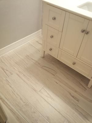 Style Selections Brazilian Pecan White 6 In X 36 In Porcelain Wood